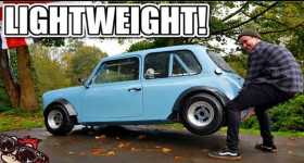Turbocharged Pocket Rocket MINI Weighing Just Over a Half a Tonne 1
