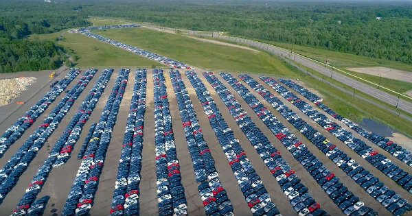 Volkswagen Graveyard From The Diesel Gate Emission Scandal in the US 1