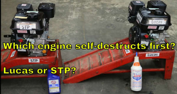 Which Engine Is Going To Last Longer Without Oil Lucas or STP 2