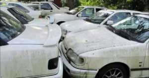 Abandoned Ford Sierra RS Cosworth 11