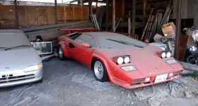 Abandoned Lamborghini Countach In Japan 11
