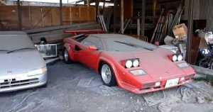Abandoned Lamborghini Countach In Japan 11