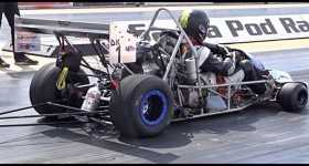 Drag Kart Running Dragstrip 1