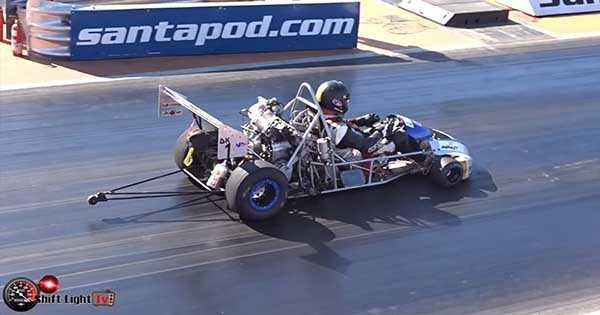 Drag Kart Running Dragstrip 2