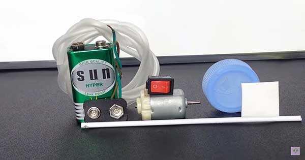 Homemade Mini Air Pump 2