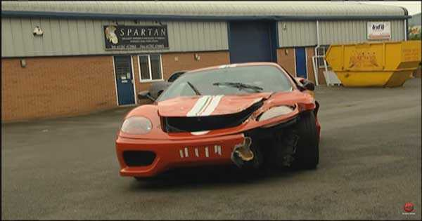 Inside The Ferrari Scrapyard 2