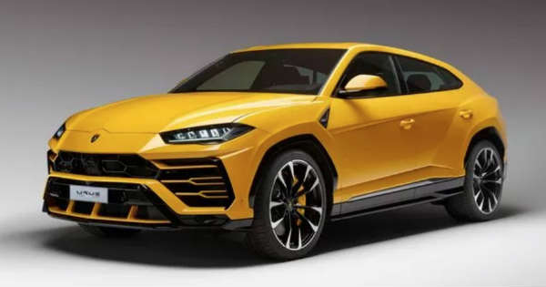 Lamborghini Unveiled Their New SUV in Public - Lamborghini URUS 2