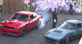 Leah Pritchetts Dodge Hellcat vs Sleeper RX7 1