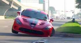 Massive Dodge Viper Crash 1