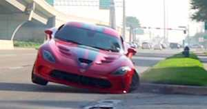 Massive Dodge Viper Crash 1