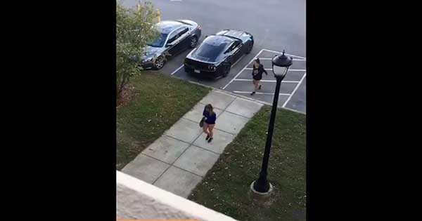 Mustang Remote Start Scares Girl 2