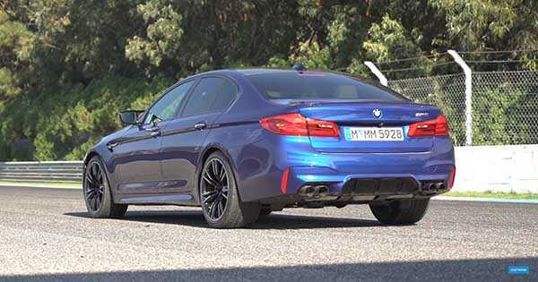 New BMW M5 2018 Review 2