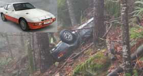 Stolen Porsche 924 Found After 26 Years in Oregon Woods 112
