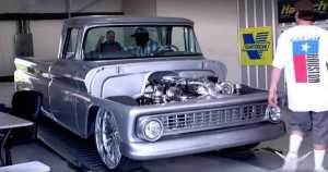 This 1000HP 1963 Chevrolet C10 Sounds About Right 1