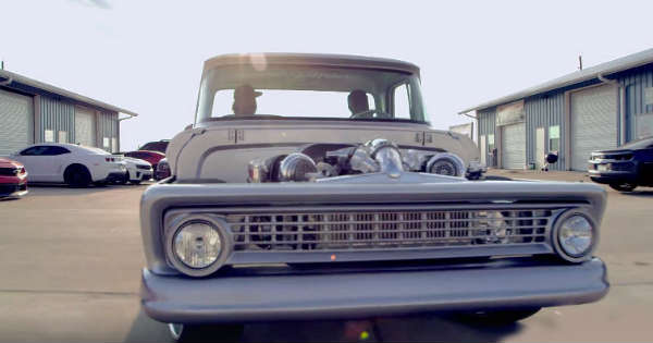 This 1000HP 1963 Chevrolet C10 Sounds About Right 2