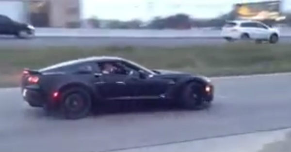 This Brand New Corvette Z06 Shows Us How To Leave The Dealership 2