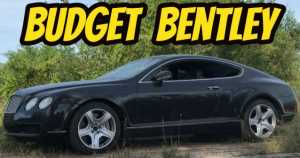 This Guy Bought The Cheapest Bentley Continental GT in the US 1
