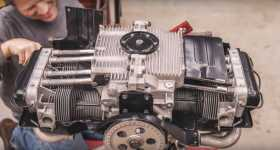 VW Beetle Engine Precisely Rebuilt In 6 Minutes Time-Lapse Video 1