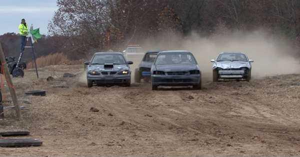 junk cars redneck racing