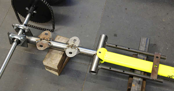 build motorized drift trike 2