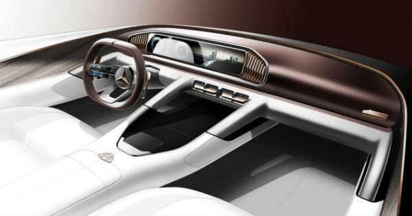 mercedes maybach suv concept 1
