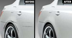 car dent repair car
