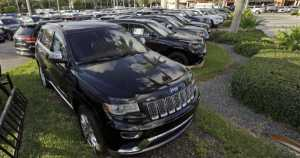 car sales plunge