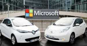 Renault-Nissan Microsoft starts to use Azure for connected cars 2