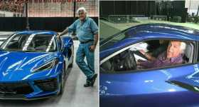 Jay Leno Drives the New Corvette C8 1