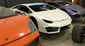 This Workshop Had To Be Shut Down Due To Making Fake Ferraris 8