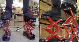 Custom Made Hydraulic Scissor Lift Shoes 1