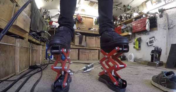 Custom Made Hydraulic Scissor Lift Shoes 2