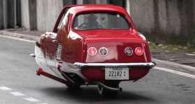 gyro x two wheeled car