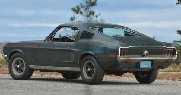 Original 1968 Mustang Fastback Bullitt 1