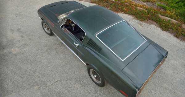 Original 1968 Mustang Fastback Bullitt 2
