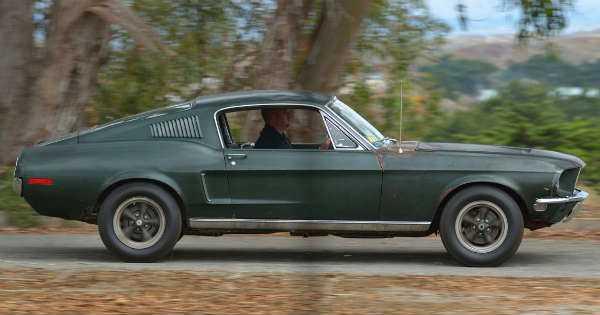 Original 1968 Mustang Fastback Bullitt 3