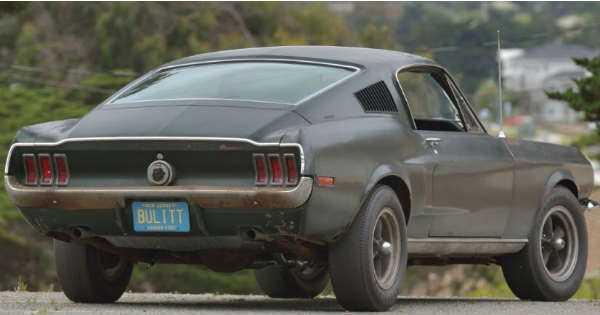 Original 1968 Mustang Fastback Bullitt 5