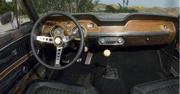 Original 1968 Mustang Fastback Bullitt 6