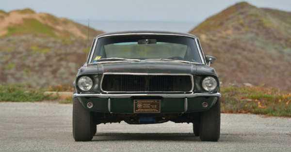 Original 1968 Mustang Fastback Bullitt
