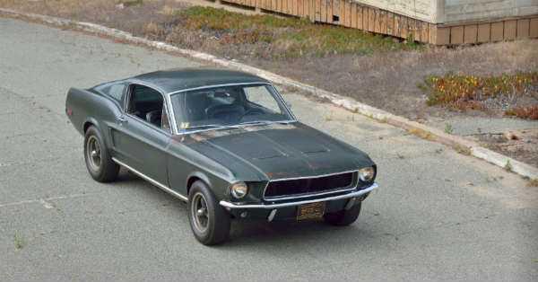 Original 1968 Mustang Fastback Bullitt 9