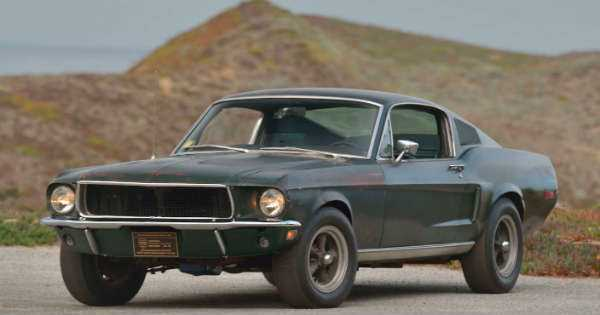 Original 1968 Mustang Fastback Bullitt sold at the Mecum Auction For 4 Million 11