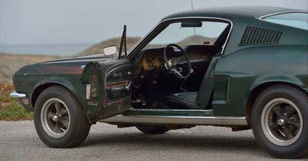 Original 1968 Mustang Fastback Bullitt sold at the Mecum Auction For 4 Million 21