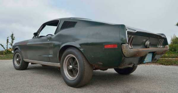 Original 1968 Mustang Fastback Bullitt sold at the Mecum Auction For 4 Million 22