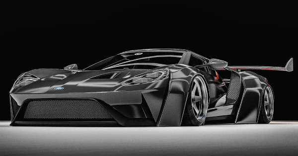 latest ford gt black knight 2