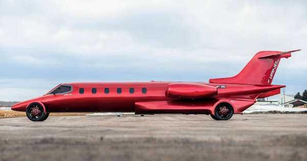 amazing learjet limousine 1