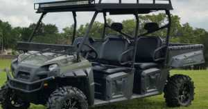 Polaris Ranger Roof Rack An Amalgamation of Utility and Style 2