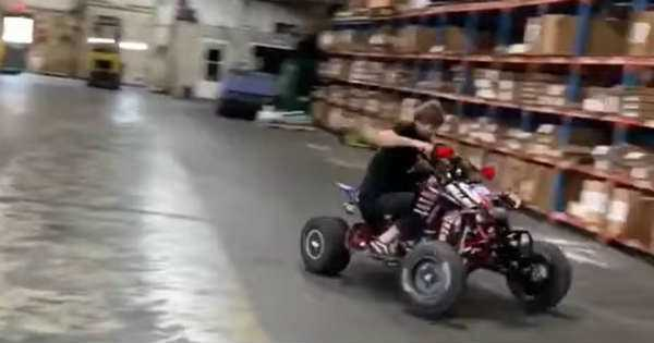 amazing quad bike drifting 1