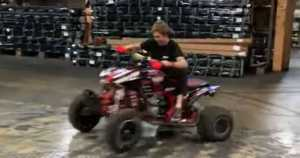 amazing quad bike drifting